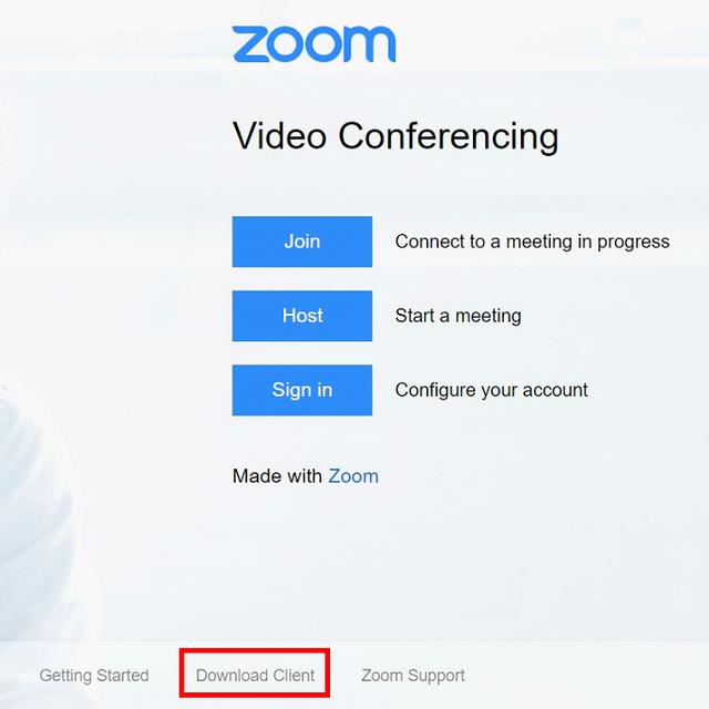 Download Zoom Client Macos