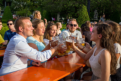 [Translate to Englisch:] Biergarten