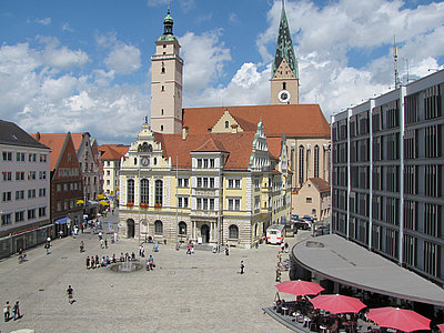 Town hall square Ingolstadt